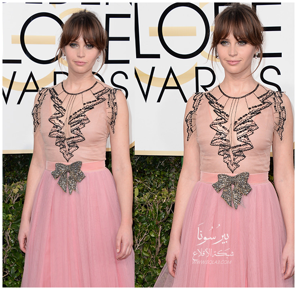 Felicity Jones In Gucci