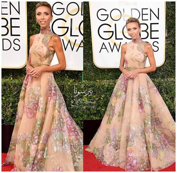 Giuliana Rancic In Rani Zakhe